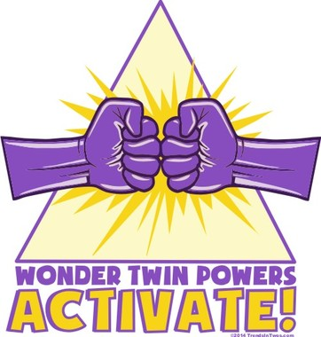 Wonder Twins Powers Activate!