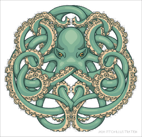 Entrelacs Octopus
