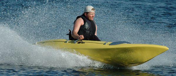 Un kayak pour le Capitaine Fifounet