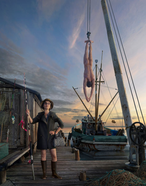 Louboutin aime Pêche Tonton