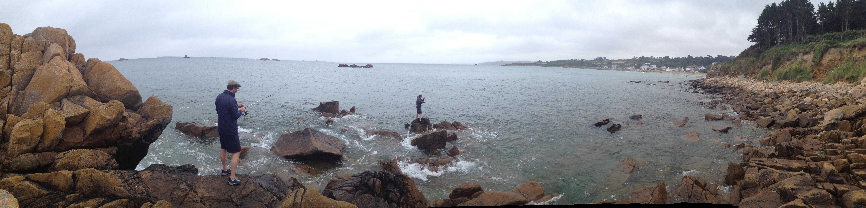 Le rockfishing au spot à rien