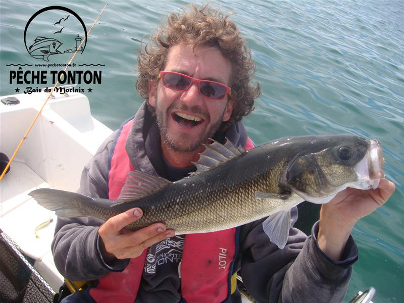 Les frazouilles pêchent le bar en Baie de Morlaix