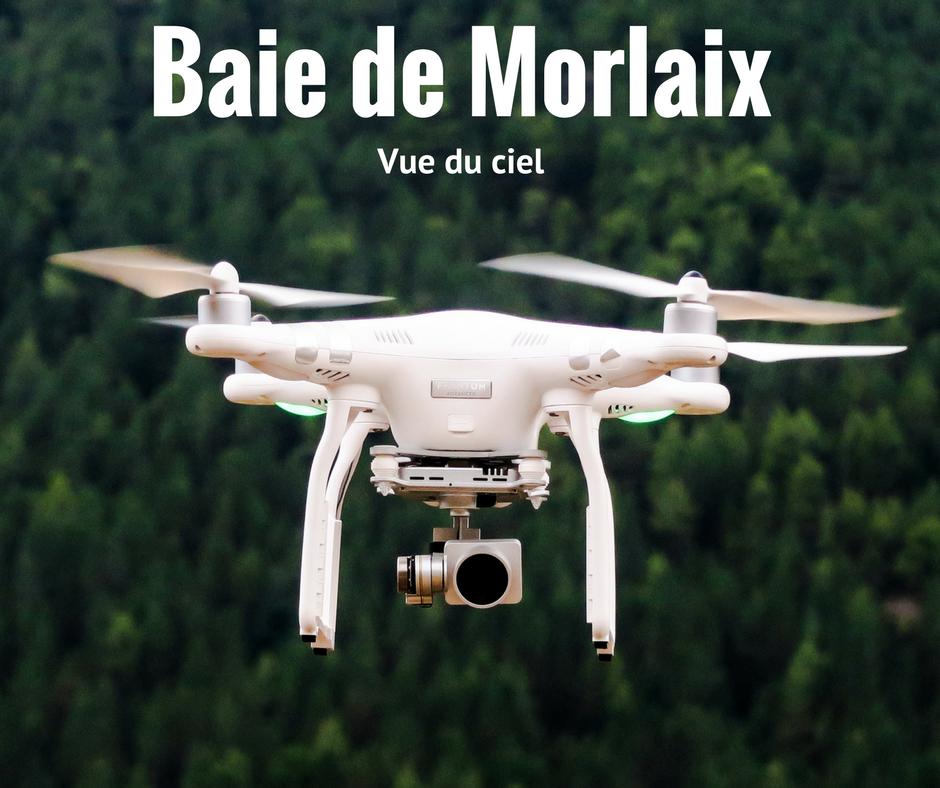La Baie de Morlaix vu du ciel