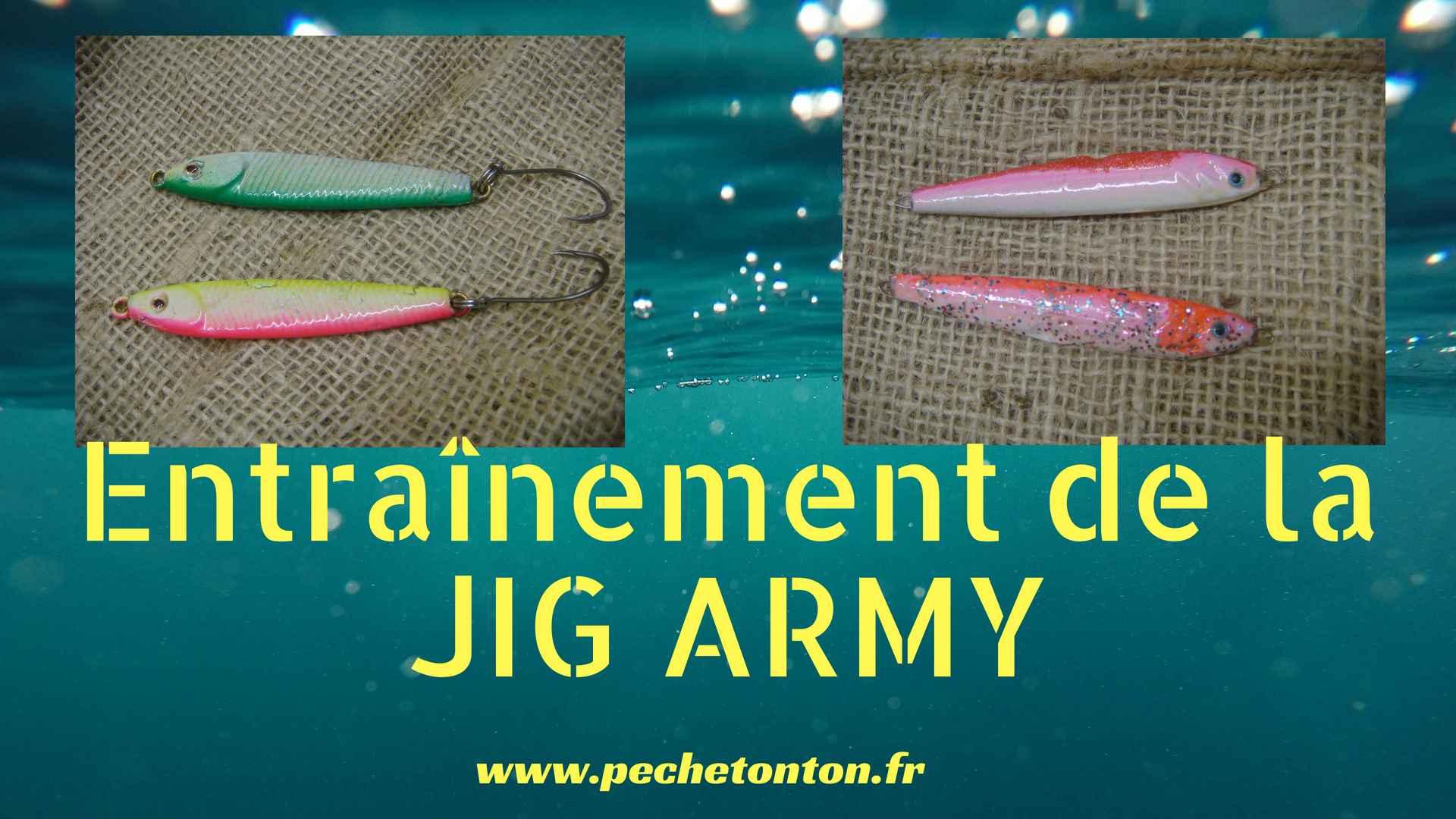 Entraînement de la «JIG ARMY»