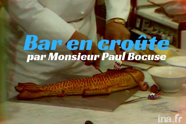 Le bar par Monsieur Paul Bocuse