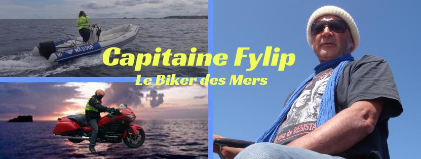 Le Capitaine Fylip Garnier le Biker des mers !