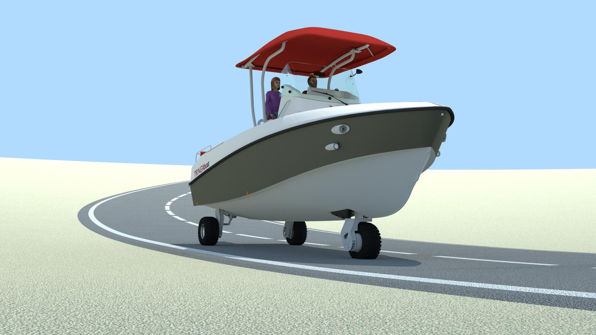 tringa bateau